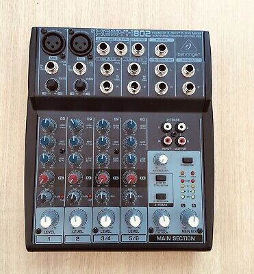 Behringer Xenyx 802 Only Used Four Times • 35£