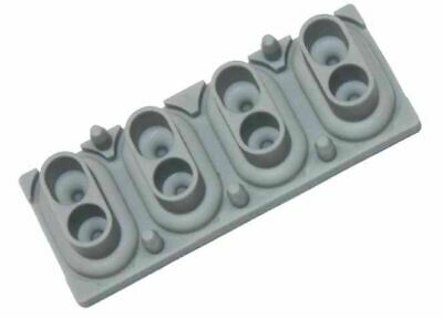 4 Note Rubber Key Contact For Korg Kronos 88, M50-88, D1 & SV-1 White • 6.88£