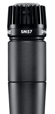 Shure SM57 Cardioid Dynamic Wired Legendary Instrument Microphone • 74.19£