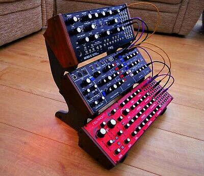 UNIWAVE MOOG Mother 32 / BEHRINGER  Model D / Neutron VALCHROMAT HDF 3 X Stand  • 59.99£
