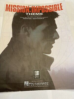 Mission: Impossible Theme Sheet Music Easy Piano Solo • 3.15£