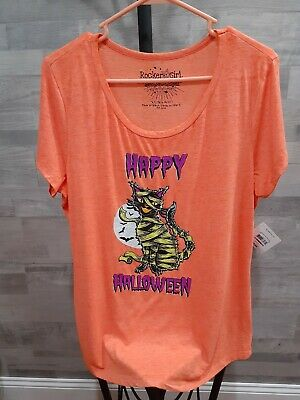 Girls Halloween Shirt XL[15-17] • 2.83£