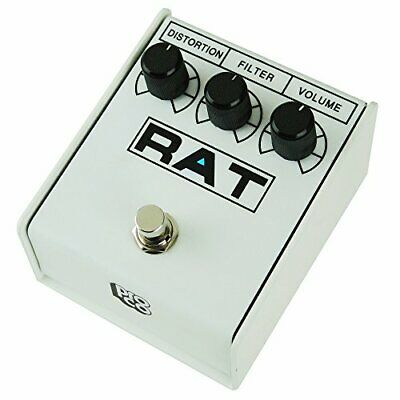 Pro-co RAT 2 WHITE IKEBE 40th Anniversary Distortion Pedal From Import Japan • 123.14£
