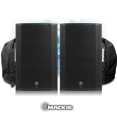 Mackie Thump15A V4 Active DJ PA Speaker 15  1300w Powered System + Bags • 629£