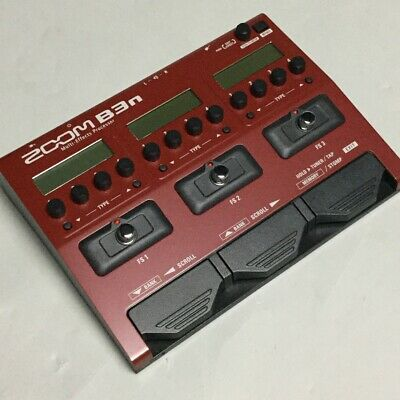 Zoom B3N Multi Effects Processor • 201.19£