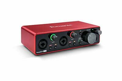 Focusrite Scarlett 2i2 3rd Gen USB Audio Interface With Pro Tools First • 187.08£