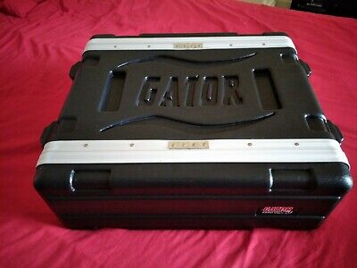 Gator 3u Shallow Rack Case, New • 50£
