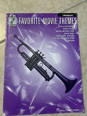 Trumpet Favorite Movie Themes With CD Chariots Of Fire, Mission Impossible • 4.61£