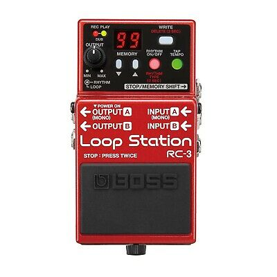 Boss Rc-3 Loop Station Pedal • 78.50£