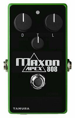 Maxon Apex808 Overdrive Pedal, Maxon Authorized Dealer, NEW In Box • 242.72£