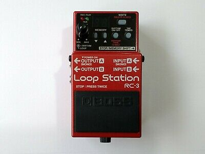 Boss RC-3 Loop Station * * * FREE P&P • 89.99£