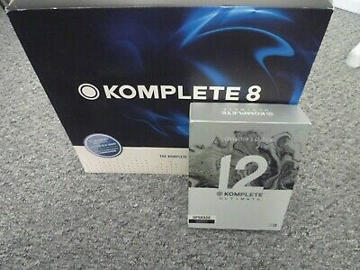 Genuine Native Instruments Komplete 12 Ultimate Collectors Edition • 549£