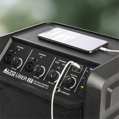 Alto UBER LT 50 Watt Bluetooth Portable PA For Beach PARTY BBQ With35 Hr Battery • 93.50£