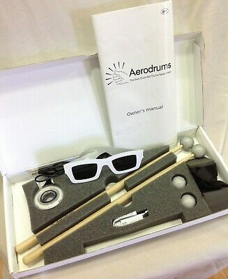 AERODRUMS Digital Air Percussion Set *BRAND NEW* • 20£