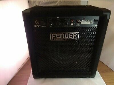 Fender Rumble 15 Guitar Speaker/Amplifier • 49.95£
