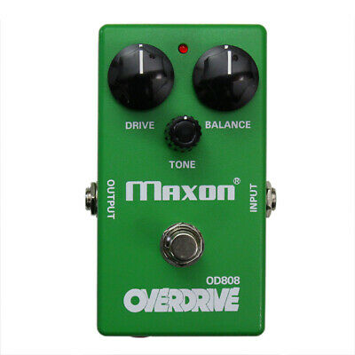 Maxon OD808-40 40th ANNIVERSARY Overdrive Pedal, Maxon Authorized Dealer, NEW • 160.43£