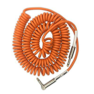 Bullet Cable 30′ Orange Coil Cable