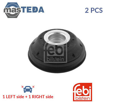 2x FEBI BILSTEIN FRONT TOP STRUT MOUNTING CUSHION SET 28405 P NEW OE REPLACEMENT • 59.99£