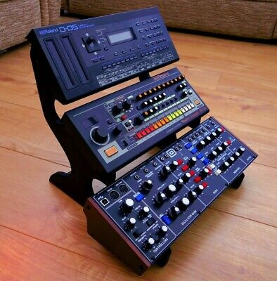 UNIWAVE Roland Boutique / Behringer Model D Synth VALCHROMAT HDF 3 Tier Stand • 49.99£