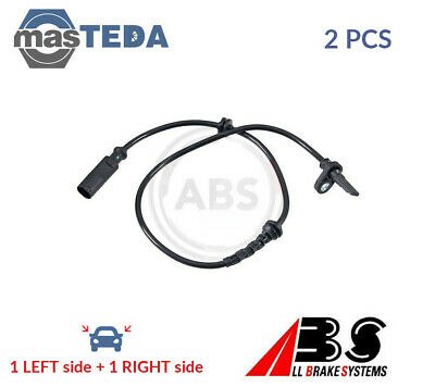 2x ABS REAR ABS WHEEL SPEED SENSOR PAIR 30617 P NEW OE REPLACEMENT • 48.99£