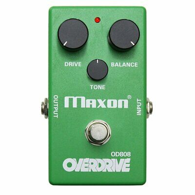Maxon OD808 Overdrive Pedal 40th Anniversary Pigtronix Modded OD808-40P • 216.95£
