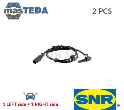 2x SNR FRONT ABS WHEEL SPEED SENSOR PAIR ASB15305 P NEW OE REPLACEMENT • 44.99£