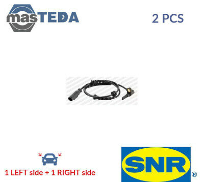 2x SNR FRONT ABS WHEEL SPEED SENSOR PAIR ASB15309 P NEW OE REPLACEMENT • 48.99£