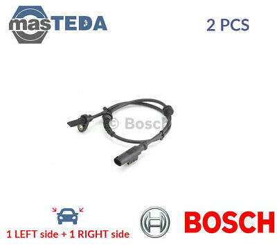 2x BOSCH REAR ABS WHEEL SPEED SENSOR PAIR 0 265 007 896 I NEW OE REPLACEMENT • 44.99£