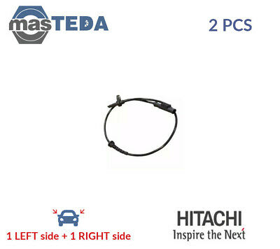 2x HITACHI REAR ABS WHEEL SPEED SENSOR PAIR 131633 P NEW OE REPLACEMENT • 44.99£