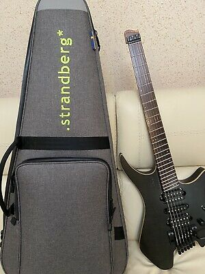 Strandberg Boden Fusion 6 Headless Electric Guitar 2018  In Black • 1,151.81£