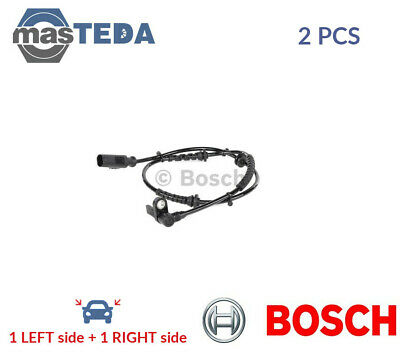 2x BOSCH FRONT ABS WHEEL SPEED SENSOR PAIR 0 265 008 089 P NEW OE REPLACEMENT • 45.99£