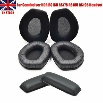 UK Replacement EarPads Or Headband Cushion For Sennheiser HDR RS165 RS175 RS185 • 11.99£
