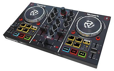 Numark Party Mix - Two-Channel Plug-And-Play DJ Controller For Serato DJ Intro W • 269.99£