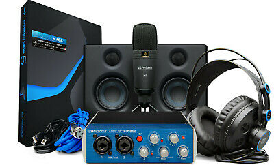 Audiobox Studio Ultimate Bundle Deluxe Hardware/Software Recording Collection • 224.28£