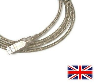 Usb Data Sync Cable Lead Cord For Boss Gt-100 Gt100 Gt 100 Amp Modelling Pedal • 5.99£