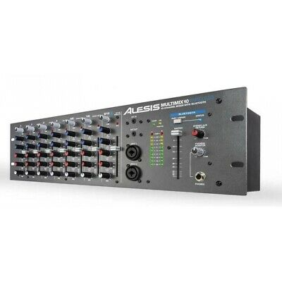 Alesis MultiMix 10 Wireless - 10 Channel Rackmount Mixer With Bluetooth