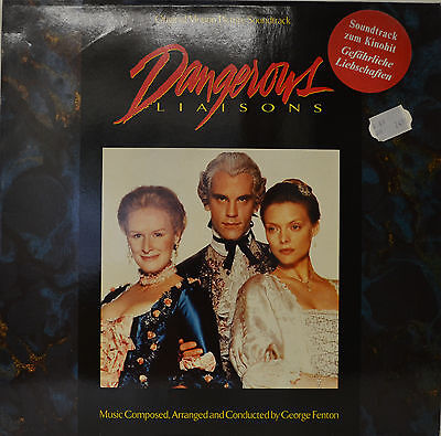 East - Soundtrack - Dangerous Liaisons - George Fenton 12   LP (N279) • 19.51£