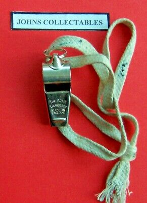 Vintage Collectable The Acme Thunderer Whistle Made In England • 8.99£