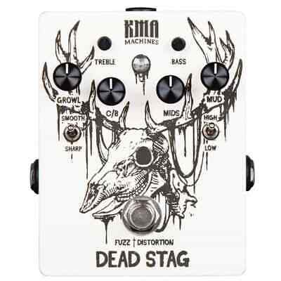 KMA Audio Machines Dead Stag Fuzz Distortion Pedal