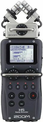 Zoom H5 4-Track Portable Recorder for Audio for Video, Music, and Podcasting