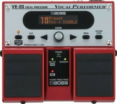 Boss VE-20 Vocal Performer Multi-Effects Pedal DHL Shipping New • 207.60£