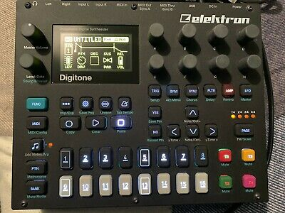 Elektron Digitone 8 Voice Polyphonic FM Synth  (DTN1) • 529£