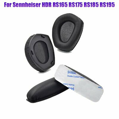 Sennheiser HDR RS165/175/185/195 Replacement Earpads Cushions Or Headbands Black • 8.99£