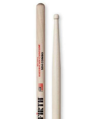 Vic Firth SD4 Combo Wooden Tip Drumsticks - Maple • 12£