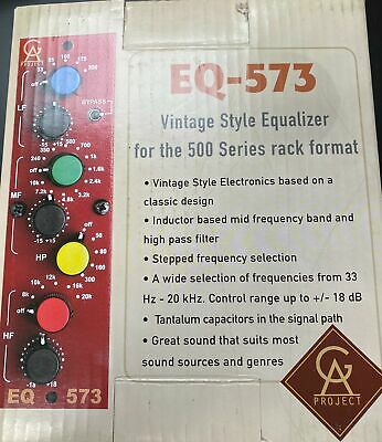 Golden Age Project PRE-573 MKIII - 500 Series Version Of PRE-73 MKII & More • 203.72£