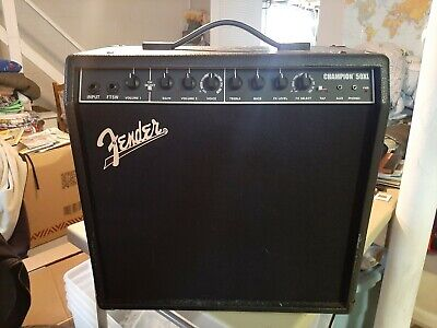 Fender Champion 50xl Combo Guitar Amplifier, Great Condition! NR! • 72.41£