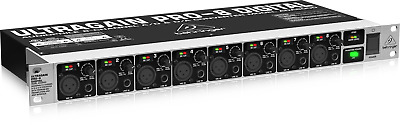 Behringer Ultragain Pro-8 Digital 8-Channel A/D D/A Converter - Model ADA8000  • 125£