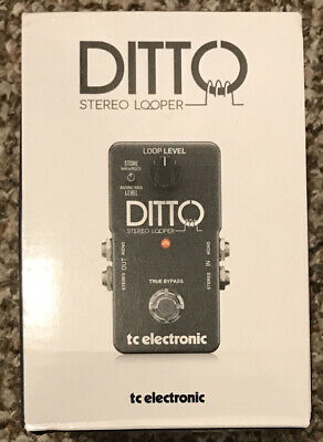 TC Electronic Ditto STEREO Looper, BOXED, Excellent Condition, Home Use Only • 69.99£