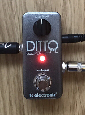 TC Electronic Ditto LOOPER Pedal, BOXED, Excellent Condition - Home Use Only, UK • 69.99£