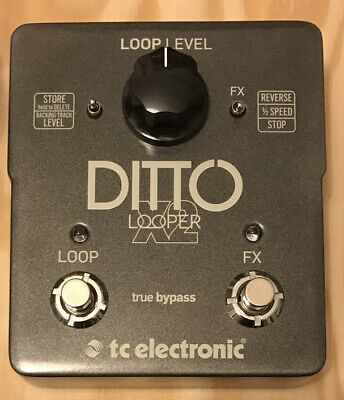 Ditto JAM X2 Looper Pedal, Excellent Condition, FREE P&P • 105.99£